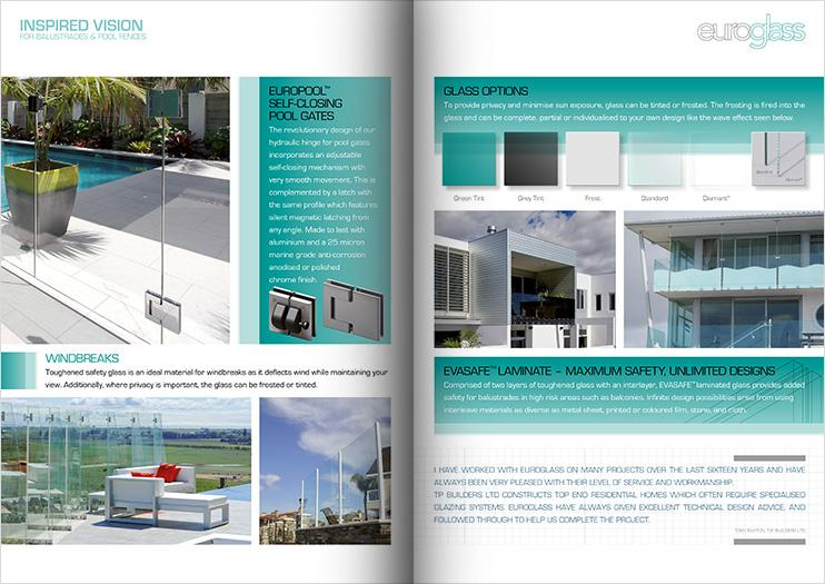 Euroglass Brochure Spread
