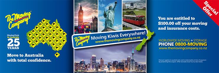 Moving Kiwis Everywhere mail campaign
