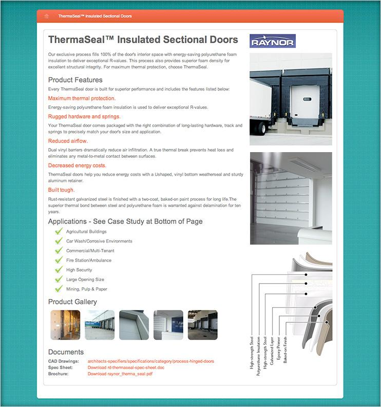 Acedoors Online Product Catalogue
