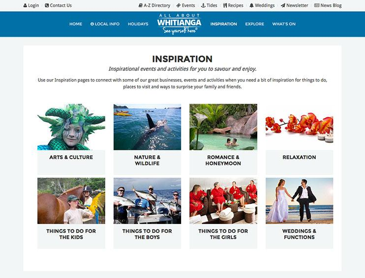 All About Whitianga Inspiration
