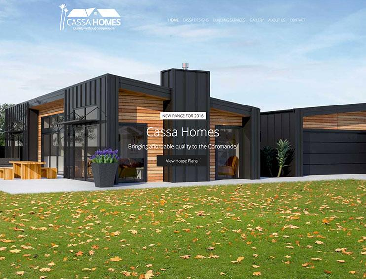 Cassa Homes Website