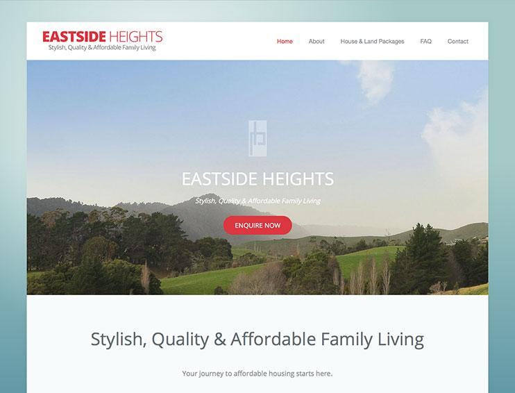 Eastside Heights Website