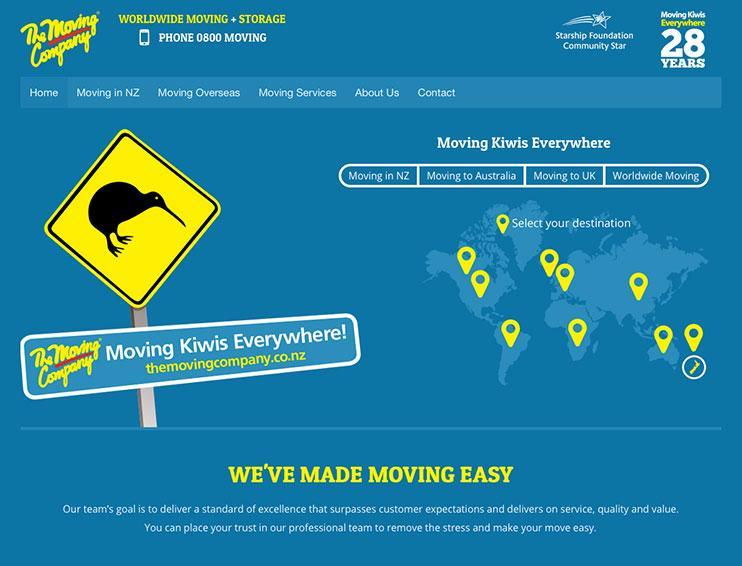 The Moving Company Website